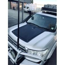 Toyota Land Cruiser 80 & 200 Series J80 J200 Lensun 95W Hood Flexible Solar Panel