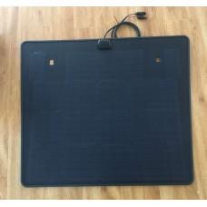 Customize for Nissan Xtrail Ti Hood Lensun 80W ETFE Black Flexible Solar Panel