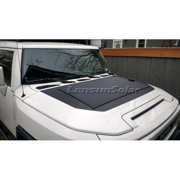 Lensun 174 New 200w 2x100w Black Flexible Solar Panel With