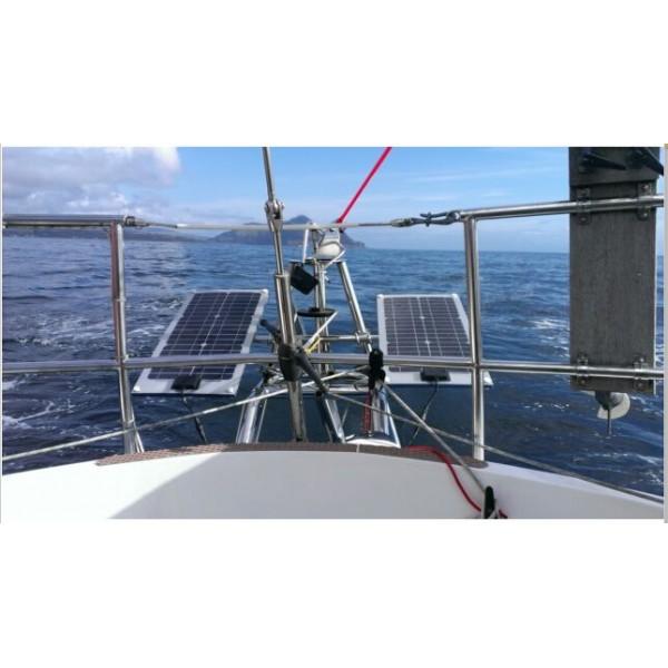 Lensun 174 50w 12v Etfe Flexible Solar Panel Only 2 5mm Thin