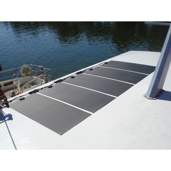 Lensun 174 Only 199 100w 12v Etfe Black Flexible Solar Panel