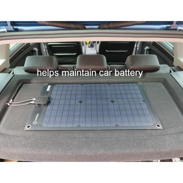 Lensun 174 30w 12v Black Flexible Solar Panel Hight Qulity