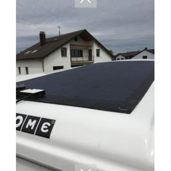 Lensun 174 50w 12v High Quality Fiberglass Black Flexible