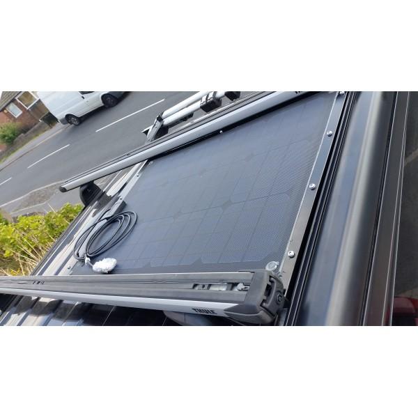 Lensun® 30W 12V Black Flexible Solar Panel,Hight Qulity