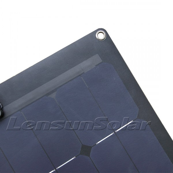 Lensun 174 220w 2x110w Sunpower Black Etfe Flexible Solar