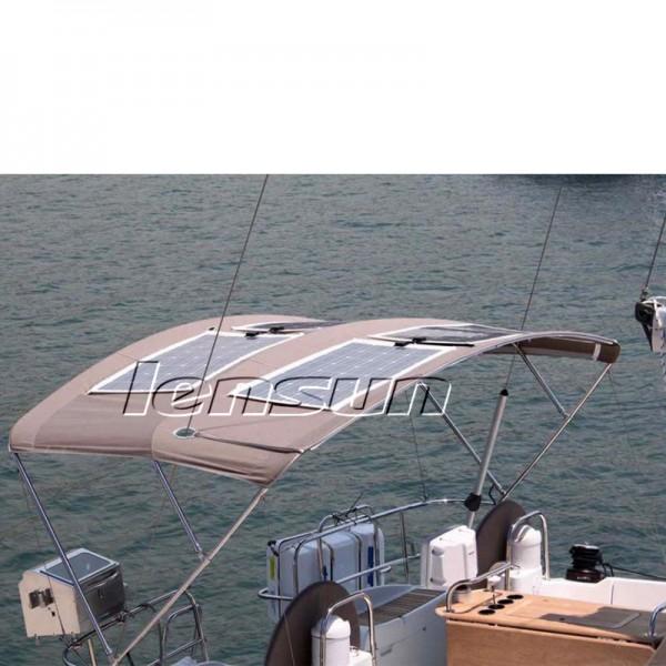 Lensun 174 80w 12v Flexible Solar Panel Perfect For Yacht