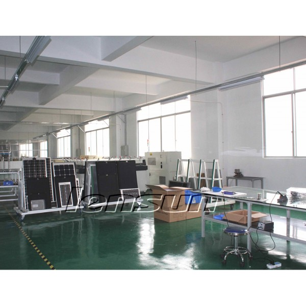 Lensun 174 60w 12v Etfe Black Flexible Solar Panel For Car Rv