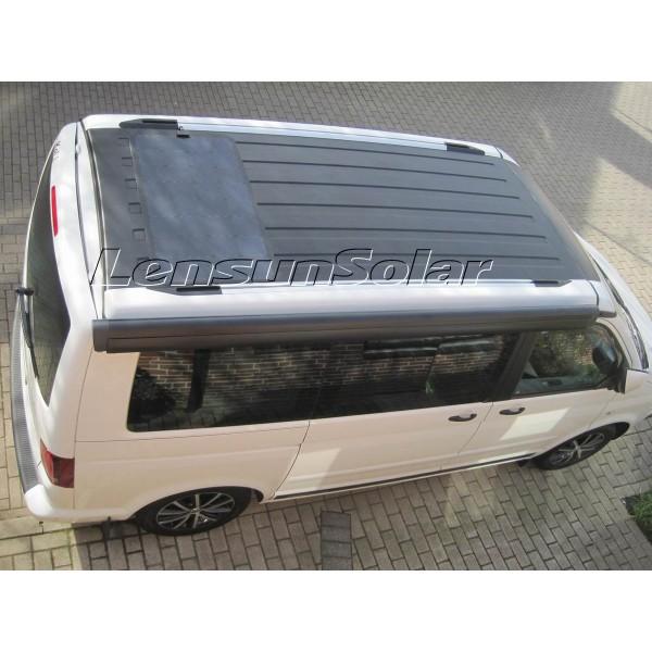 Lensun 174 80w Fiberglass Black Flexible Solar Panel 12v Full
