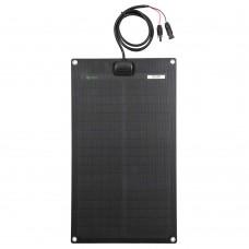 Lensun® 30W 12V Black Flexible Solar Panel,Hight Qulity ETFE for Car Boat Cabin Tent RV Truck Battery Charging