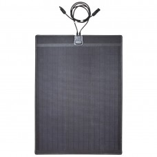 Lensun®  New 60W 12V ETFE Black Flexible Solar Panel with Rubber Strip to Protect the Edge made the solar panel stouter