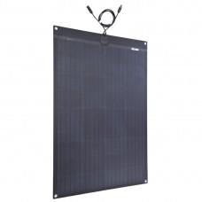 Lensun®  120W 12V Black Flexible Solar Panel RV, Boat, Cabin, Van, Truck, Camper
