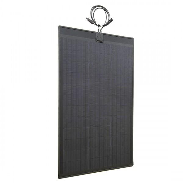 Lensun 174 New 80w 12v Etfe Black Flexible Solar Panel With