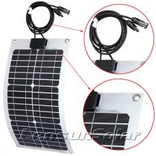 Lensun® 20W 12V Flexible Solar Panel ETFE Quality NOT Cheap PET Solar Panel, Perfect for Yacht,Boat,Caravan