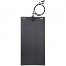 Lensun® 50W 12V ETFE Black Flexible Solar Panel Without Eyelet, Special size for VW T4 Camper 850*420mm
