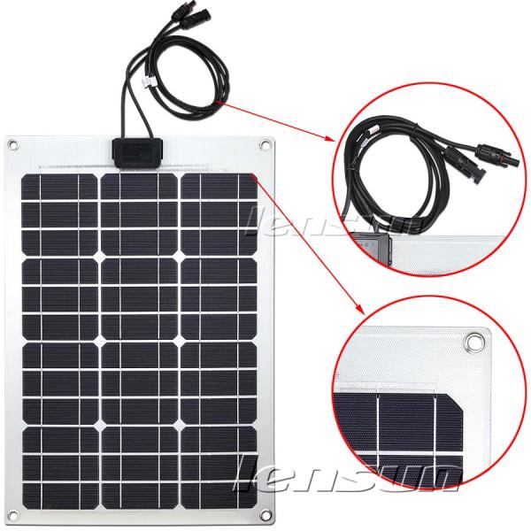 Solar 12v Flexible 12v Flexible Solar Panel