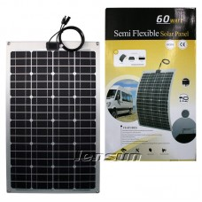 Lensun® 60W 12V Flexible Solar Panel,Only 2.5mm Thin, Light for battery charge RV, Boats