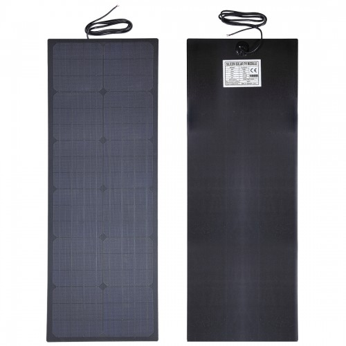 Lensun® 55W 12V Black ETFE Flexible Solar Panel Special size for Kimberley Kamper and Combi Camper