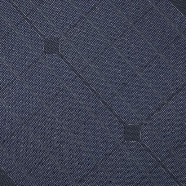 Lensun 174 New 100w 12v Etfe Black Flexible Solar Panel With