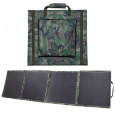 Lensun Camouflage Army Style160W( 4 x 40W)  12V Flexible Folding Solar Panel Kit with 20A Solar controller