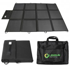 Lensun 200W 12V Portable Solar Panel Blanket, Lightweight Ultra-Thin only 7 kgs/15.4 lbs