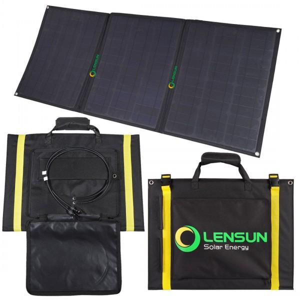 Lensun Etfe 100w 12v Foldable Flexible Solar Panel With