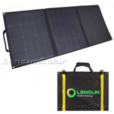 Lensun ETFE 100W 12V Foldable Flexible Solar Panel with MC4 Connector, Portable Foldable Ultralight only 3.2kgs/ 7 lbs!!!