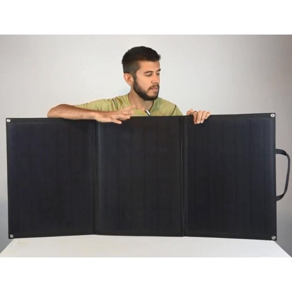 Lensun Etfe 100w 12v Foldable Solar Panel Full Charge Kit