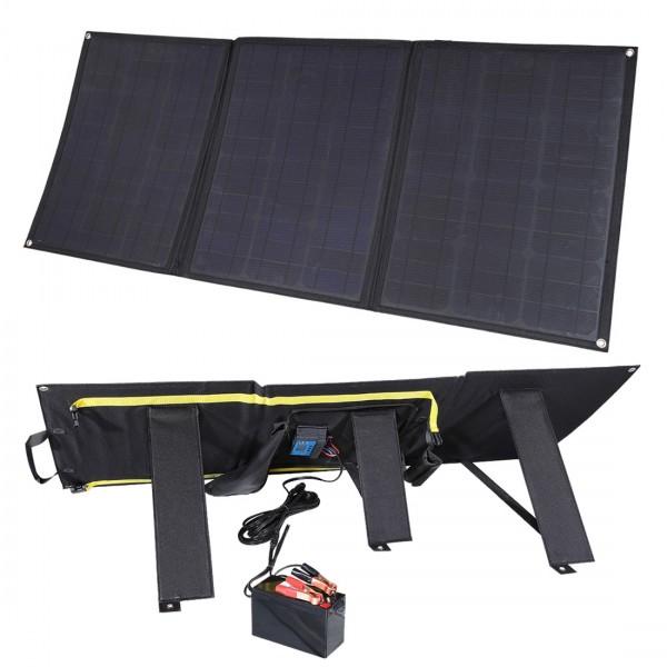 Lensun 100w 12v Etfe Flexible Folding Solar Panel Kit