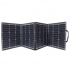 160W ( 4 x 40W) 12V Flexible Folding Solar Panel with MC4 Connector,Ideal for Camping van,RVS,Caravans Offroad Vehicles