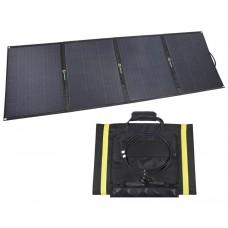 Lensun 200W ( 4x50W) Folding Solar Panel with MC4 Connector for outdoor Camping,RVs, Solar Generators