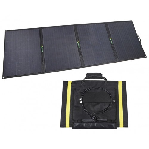 Lensun 200W ( 4 x 50W) 12V ETFE Flexible Folding Solar Panel with MC4 Connector, only 7kgs/ 15 lbs, for outdoor Camping,RVs, Solar Generators