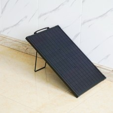 Lensun Innovative 30W ETFE Solar Panel with Aluminium frame and Kickstand, Thin Lightweight Only 1.3kgs/2.9lbs