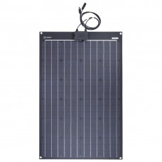 Lensun® 100W 12V ETFE Flexible Solar Panel for RVs, Campers, 4WD Offroad Vehicles outdoor power