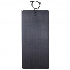 Lensun®  Only $199 100W 12V ETFE Black Flexible Solar Panel, Use New Hightest Efficiency Mono PERC 6'' Solar Cells