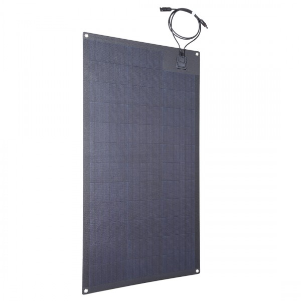 Lensun 174 100w 12v Etfe Black Flexible Solar Panel Use