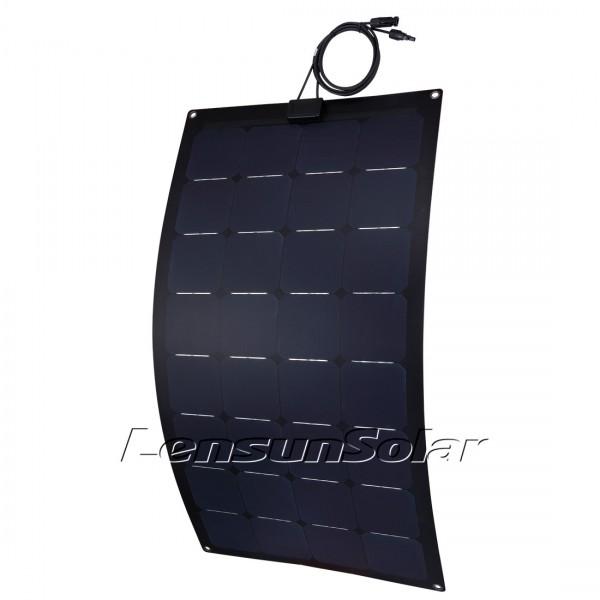 Lensun 174 110w 12v Sunpower Black Etfe Flexible Solar Panel