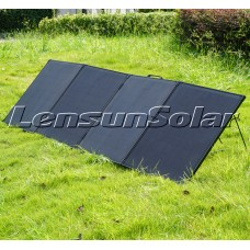 Lensun Innovative 12V 300W Super Lightweight Thin Portable Folding ETFE Solar Panel, Perfect for Camping Life as a Solar Companion