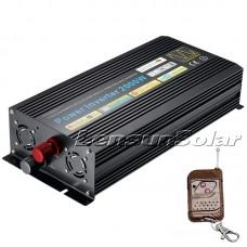 Lensun® 2000W(4000W PEAK) Pure Sine Wave Power Inverter  with Remote 12V DC 240V AC