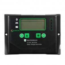 Lensun® 12V 300W Waterproof LCD Solar Panel Regulator Charge Controller for Lithium, AGM, GEL Battery