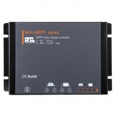 Lensun® 12V/24V 500W Waterproof LCD Solar Panel Regulator Charge Controller for Lithium, AGM, GEL Battery