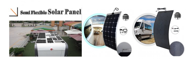 New 100W Flexible Solar
